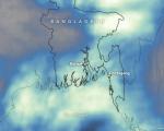 Cyclone Roanu in Bangladesh - Image courtesy of NASA Earth Observatory, map by Joshua Stevens