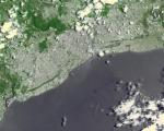 Santo Domingo. Image courtesy of NASA.