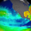 The Aquarius instrument aboard the Aquarius/SAC-D spacecraft was measuring global sea surface salinity (Image: NASA)