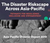 Cover of the Asia-Pacific Disaster Report 2019.