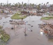 Aftermath of Cyclone Idai in Mozambique in March 2019. Image: Denis Onyodi/IFRC/DRK/Climate Centre.