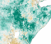NDVI Anomaly. Image: NASA