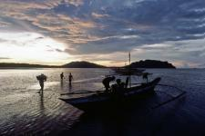 Fishermen in the Philippines