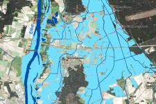 The International Charter provides satellite images for disaster situation