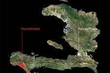 3-D Visualization of Port-à-Piment Watershed, Republic of Haiti