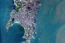 Bombay seen from space by ESA's Proba satellite.