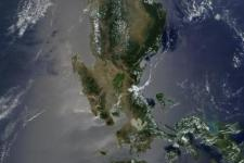 Fires in the Philippines, seen from Space by NASA's Terra satellite.
