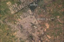 Islamabad, Pakistan seen from Space in 2003