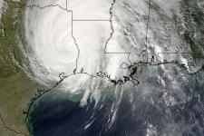 L'ouragan Rita pris par le satellite Terra / Crédit: NASA