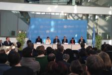 Secretary General Ban Ki-Moon addressed the 1000 UN staff working in Bonn