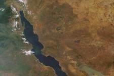 Lake Tanganyika from space