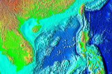 satellite image of South China sea