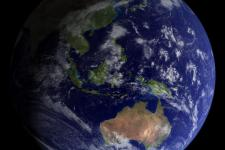 satellite image fo the Earth