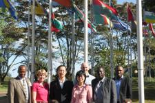 Mission team of the Kenya Technical Advisory Mission