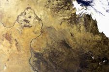 Sudan seen from Space by ESA's Medium Resolution Imaging Spectrometer in 2004