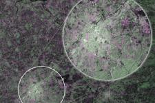 The first image captured by Copernicus satellite Sentinel-1A showing Brussels