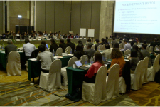 Participants of the ISDR Asia Platform (IAP) meeting in Bangkok