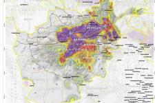 International Charter activation for floods in Afghanistan, satellite images