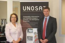 OOSA's Director, Simonetta di Pippo, met with representatives