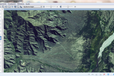 The atlas contains topographic maps and satellite imagery