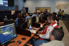 Previous simulation in Honduras in June 2014