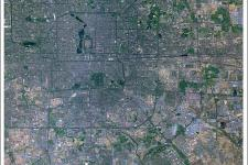 Satellite image of Beijing acquired by Gaofen-1
