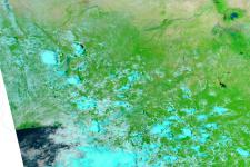 Parts of Nigeria seen from Space by NASA's Aqua satellite