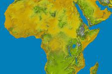 Initially, topographic data for Africa will be published followed by Latin America and the Caribbean
