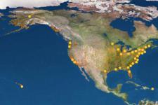 Sea Grant programs Map
