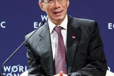 Mr Lee Hsien-Loong at the World Economic Forum on East Asia in Jakarta, 2011