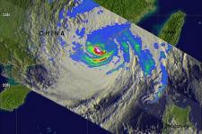 Typhoon USAGI approaching East coast of China