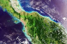 Satellite image of Malaysia captured on 05/05/2006