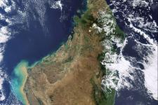 Image of Madagascar acquired by Envisat's Medium Resolution Imaging Spectrometer (MERIS) instrument on 30 June 2009
