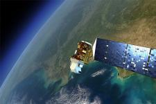 Land monitoring satellites could support the search for lost planes and ships (Image: NASA)