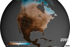 The south-west of the United States could face severe droughts in the future, scientists found