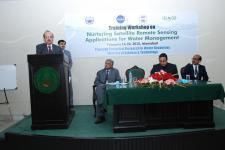 ICIMOD and PCRWR are conducting a workshop on satellite-based remote sensing for water management