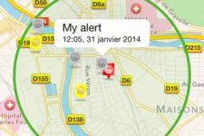 Screenshot of SIGNALERT crowdmapping app (Image: Signalert SARL)
