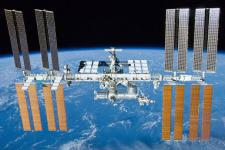 One of the micro-satellites will be launched from the International Space Station  (Image: NASA)