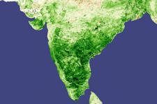 Satellite image of southern part of India (Image: NASA)