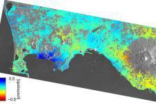 Phlegraean Fields monitored by Sentinel-1 (Image: ESA)