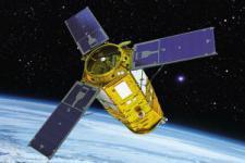 Artistic image of KOMPSAT-3A (Image: Hotaroo0521)