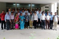 Participants of the training course in Dhaka, Bangladesh