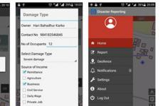 """""""Disaster Reporting"""" app is now freely available in Google Play (Image: ICIMOD)"""