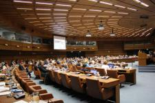 The agreement was signed during the 58th session of COPUOS in Vienna (Image: UNOOSA)