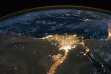 Satellite image of the Earth (Image: NASA)