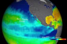 The Aquarius instrument aboard the Aquarius/SAC-D spacecraft was measuring global sea surface salinity (Image: NASA)