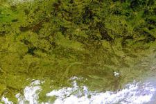 Belarus satellite image (Image: NASA)