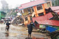 Heavy monsoon rains have caused floods and landslides in Myanmar (Source: UNICEF)
