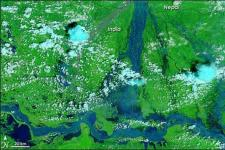 Bihar is the most flood prone state in India (Image: NASA)