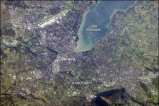 Satellite image of the city of Geneva, Switzerland (Image: NASA)